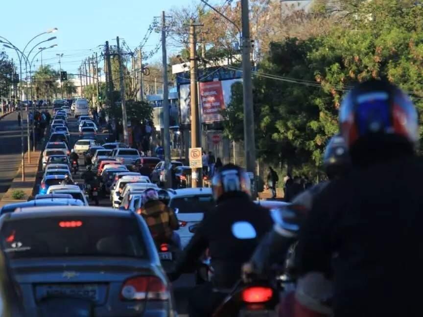 Opção de moto promete driblar o trânsito na Capital, principalmente em horários de pico (Foto: Arquivo)