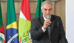 Reinaldo propõe unificar preços de insumos da saúde em encontro no RS