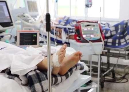 MS tem 67 mortes e superlotação chega a 112%