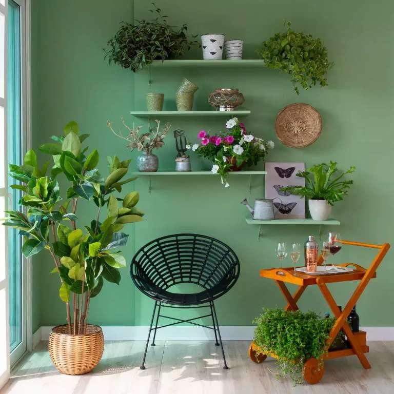 Cantinho verde é inspiração até para quem vive em cubículos da cidade