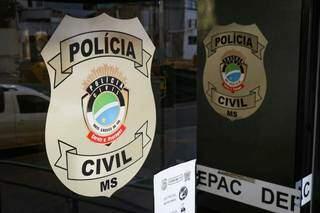 Caso de roubo e extorsão foi registrado na Depac Centro (Foto: Henrique Kawaminami)