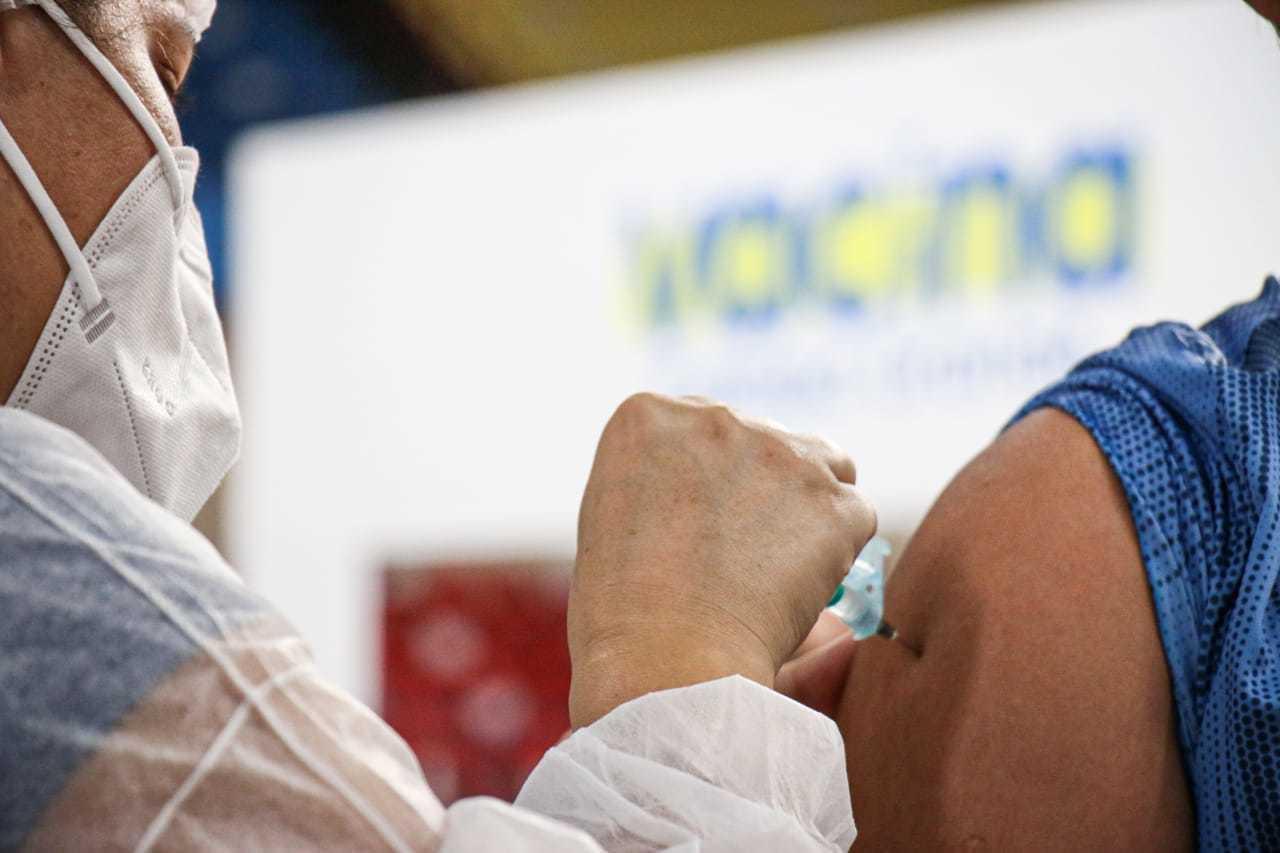 Em Campo Grande, esta imagem não é vista há 5 dias, por falta de imunizantes contra covid (Foto/Arquivo: Henrique Kawaminami)