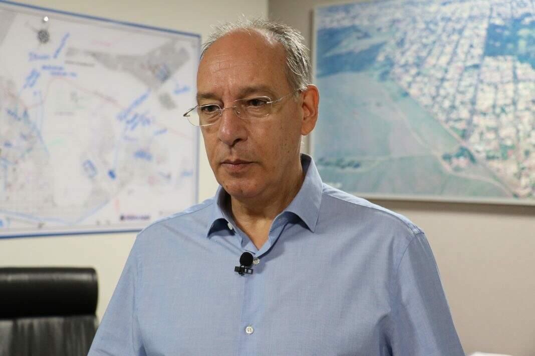 Prefeito de Ponta Porã, Hélio Peluffo teve contas aprovadas, apesar de problemas encontrados (Foto: Divulgação/PMPP)