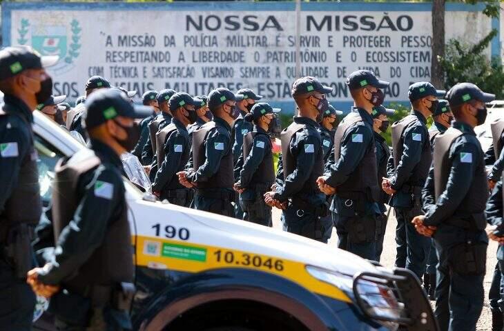 Comando reforçou militares em cidades para fiscalização do cumprimento de decreto. (Foto: Arquivo/Saul Schramm)