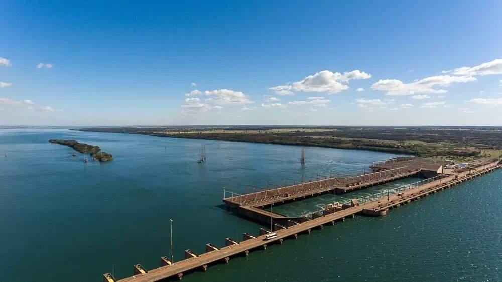 Usinas de MS entrarão em esquema contra escassez hídrica, entre elas a Usina Ilha Solteira, em Selvíria (Foto: CTG Brasil)