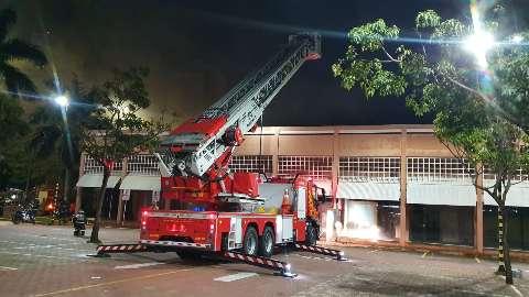"""""""Foi um desespero"""", diz funcionário sobre incêndio que começou ao assar cupim"""