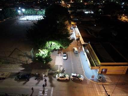 """Guarda Municipal acaba com """"rolezinho"""" no Serra azul e manda multidão para casa"""