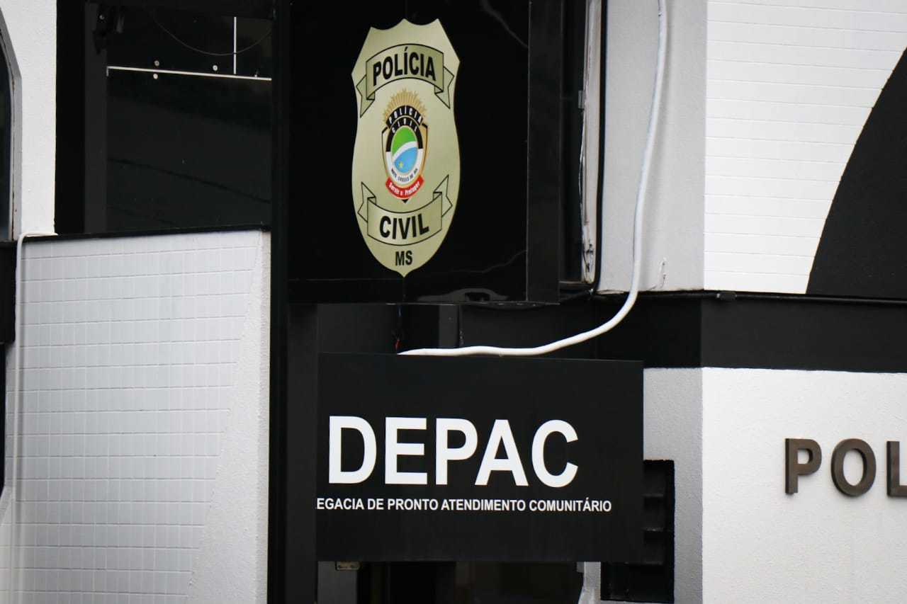 Boletim de ocorrência foi registrado na Depac Centro de Campo Grande. (Foto: Arquivo/Henrique Kawaminami)