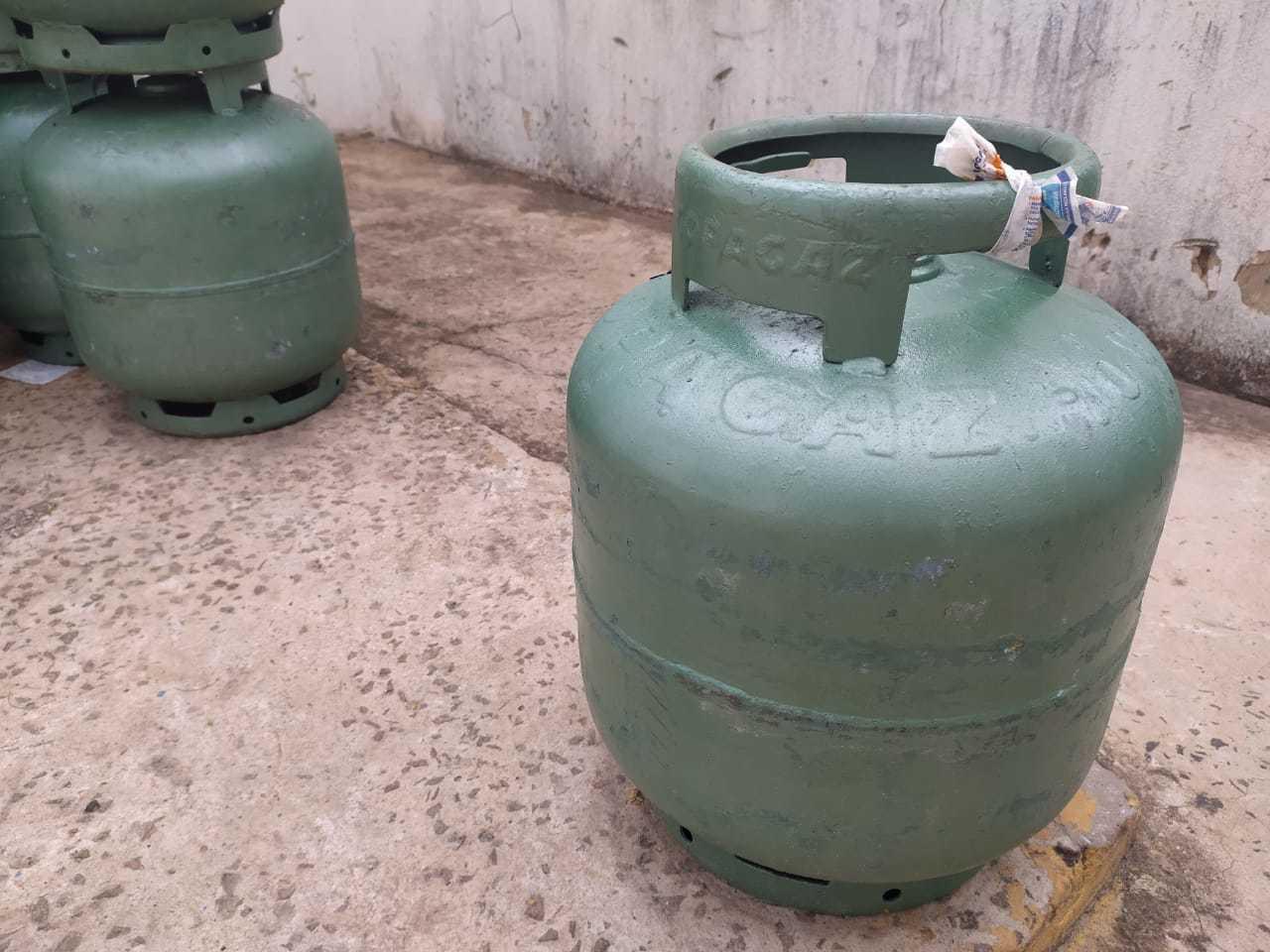 Gás de cozinha disponível em revendedora da Capital (Foto: Arquivo)
