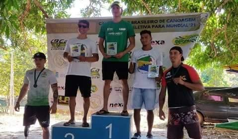 MS conquista 6 medalhas no brasileiro e garante vagas no mundial de Canoagem