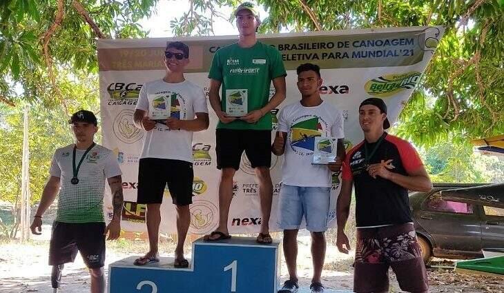 No total dez atletas representaram Mato Grosso do Sul no campeonato brasileiro (Foto: Divulgação)
