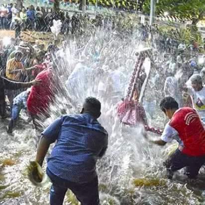 Festeiros terão 15 minutos para realizar Banho de São João