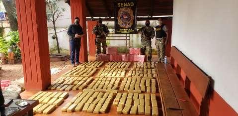 Agência antidrogas encontra 1.500 quilos de maconha em acampamento narco