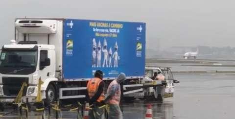 Doses da Janssen chegam ao Brasil, mas sem data para desembarcar em MS
