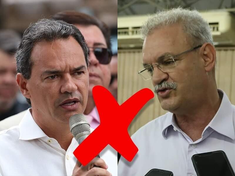 Marquinhos Trad e o secretário Geraldo Resende são dois lados opostos na avaliação da pandemia.