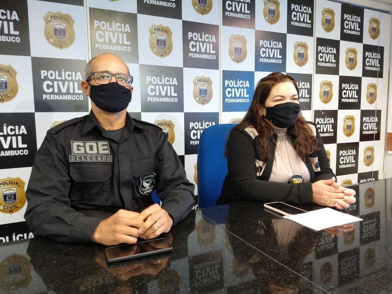 Operação foi deflagrada pela Polícia Civil do Pernambuco e contou com a colaboração de outros 4 estados (Foto: Divulgação)