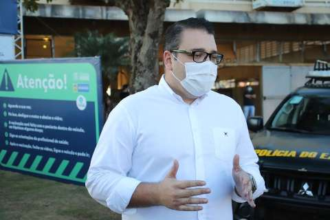 "Único a decretar lockdown, prefeito de Dourados critica ""bandeira vermelha"""