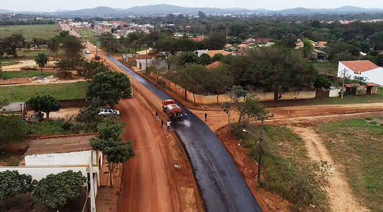 Pavimentação da rodovia era uma reivindicação antiga do trade turístico: acesso é fundamental para alavancar a maior fonte de renda da cidade. (Foto: Divulgação)