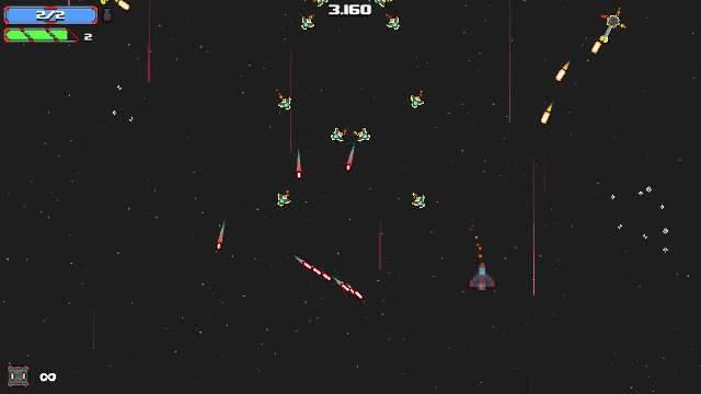 Shmups retrôs oferecem desafio em Arcade Space Shooter
