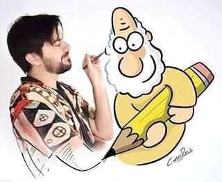 """Carlos Ruas, autor das tiras """"Um sábado qualquer"""", palestrará na abertura do Simpósio """"Quadrinhos (Foto: Divulgação)"""