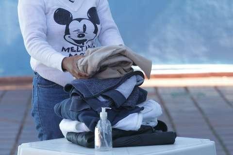 Mostre onde doar agasalhos e cobertores para campanhas de inverno