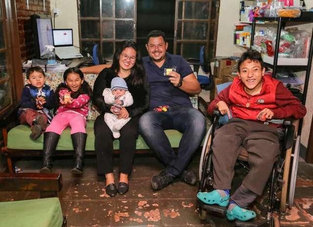 Não existe tempo ruim para pai que fez dos brownies o sorriso da família