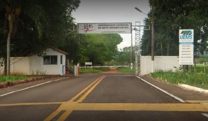 Campus da Uems no município de Aquidauana (Foto: Divulgação)