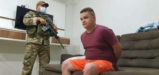 Nova-andradinense Luiz Guilherme Dutra Toppam, de 25 anos, conhecido como Coxinha. (Foto: Arquivo/Senad/Divulgação)
