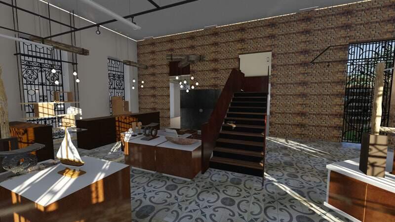 Por dentro, casa será repaginada e terá projeto de iluminação para ressaltar detalhes da arquitetura.