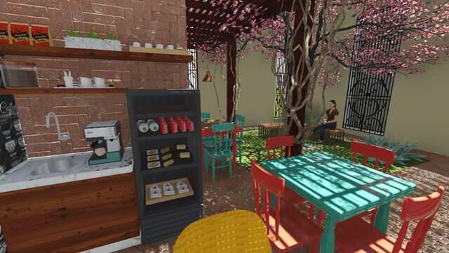 Reforma prevê café para atender visitantes em área externa.