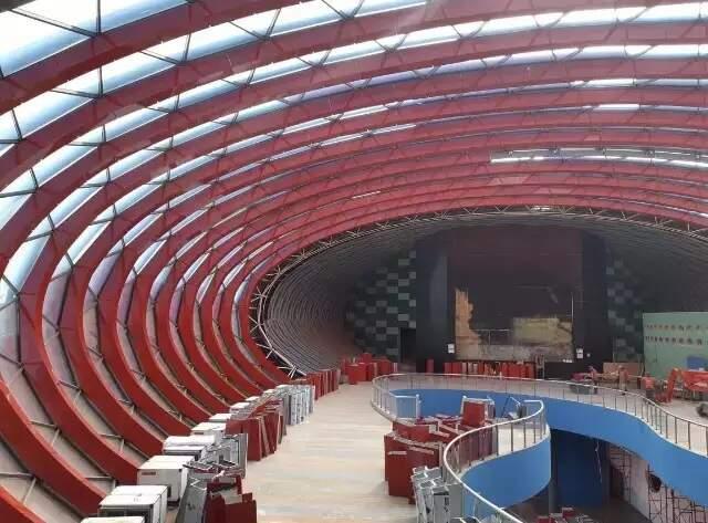 Área de parte interna do Aquário. (Foto: Divulgação)