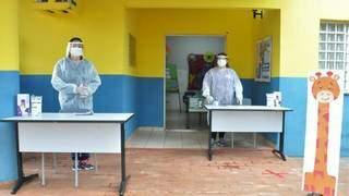 Assistentes educacionais em escola da Capital. (Foto: Divulgação)