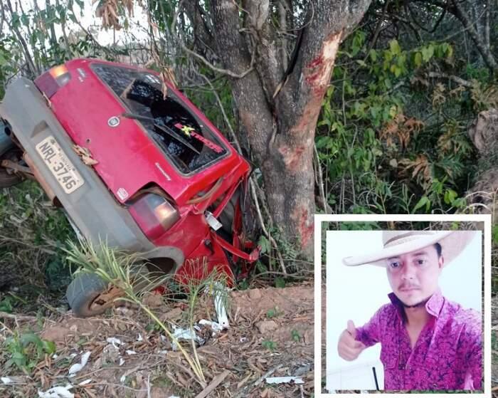 Jovem de 26 anos, Tiago Brito, faleceu na rodovia MS-142 entre Paraíso das Águas e Camapuã. (Foto: O Correio News)