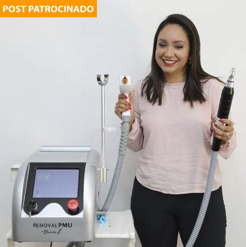 Remoção a laser para micropigmentações antigas