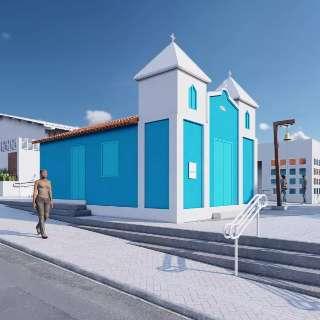 """Em restauro, Igreja São Benedito terá centro cultural e """"canto sagrado"""""""