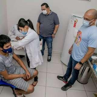 """Cinco cidades do """"Cinturão Vacinal"""" não bateram marca de 90%"""