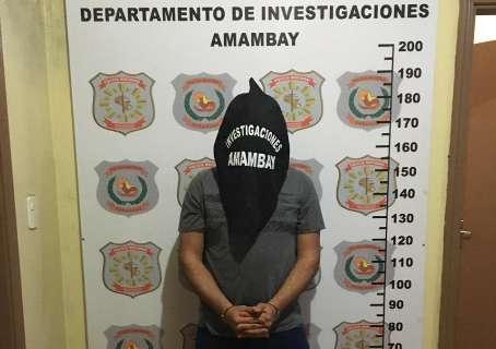 Agente penitenciário é preso acusado de assaltos na fronteira com MS