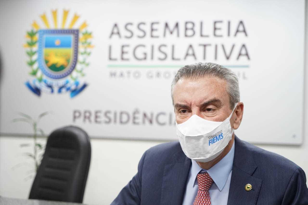 Deputado Paulo Corrêa falou sobre projeto que pode ser analisado na volta do recesso (Foto: Cyro Clemente/Alems)