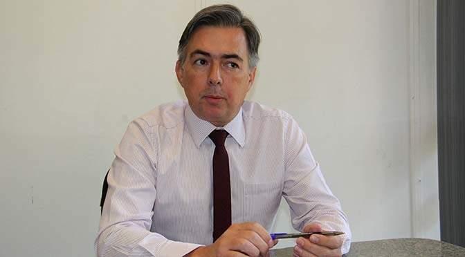 Secretário de Estado de Justiça e Segurança Pública de MS, Antônio Carlos Videira (Foto: ALMS)