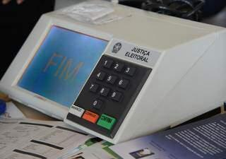 Urna eletrônica utilizada pela Justiça Eleitoral brasileira (Foto: Elza Fiúza/ABr)