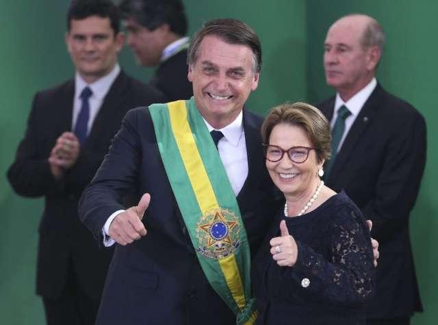 Senado ou vice de Bolsonaro são opções de Tereza em 2022