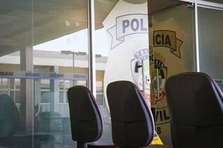 Recepção da Deam (Delegacia Especializada de Atendimento à Mulher), onde caso de estupro de vulnerável foi registrado (Foto: Henrique Kawaminami)