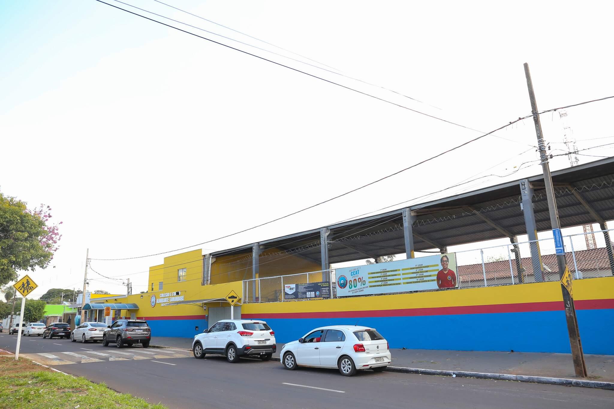 O TOPVEST funciona no Colégio Almirante Tamandaré. (Foto: Paulo Francis)