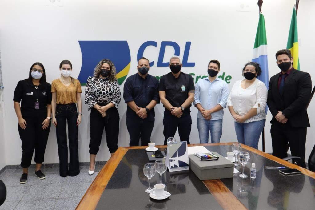 Reunião foi realizada nesta terça-feira na Câmara de Dirigentes Lojistas de Campo Grande (Foto: Divulgação)