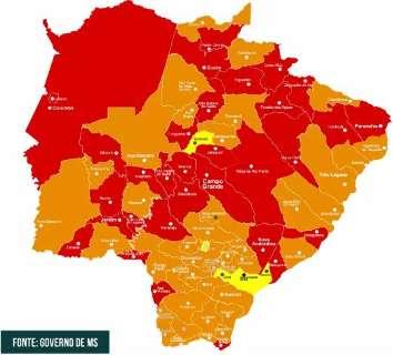 """Capital segue """"no vermelho"""", mas 9 cidades pioram na classificação de risco"""