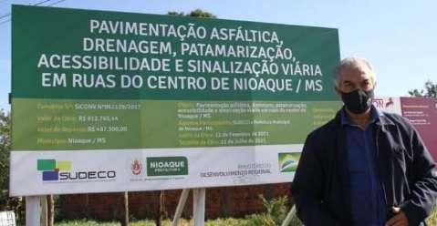 Reinaldo diz que avanços do governo foram à custa de grandes sacrifícios