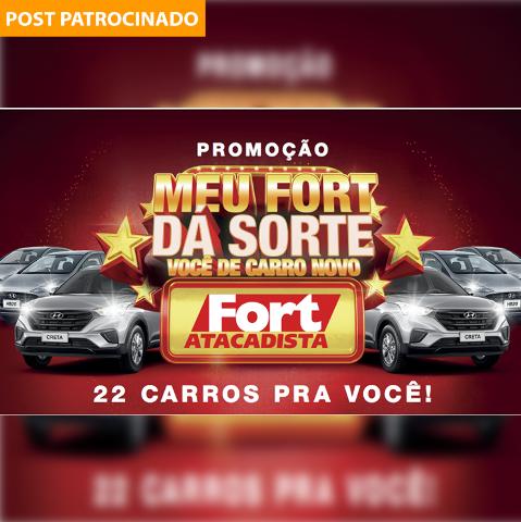 """""""Meu Fort Dá Sorte"""" sorteia 22 carros e vales-compras diários de R$ 500"""