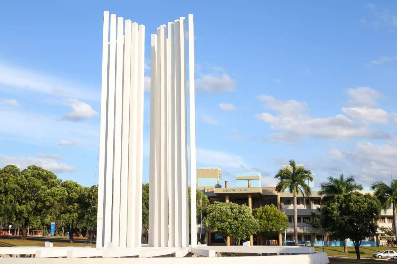 Campus da UFMS em Campo Grande (Foto: Arquivo/Campo Grande News)