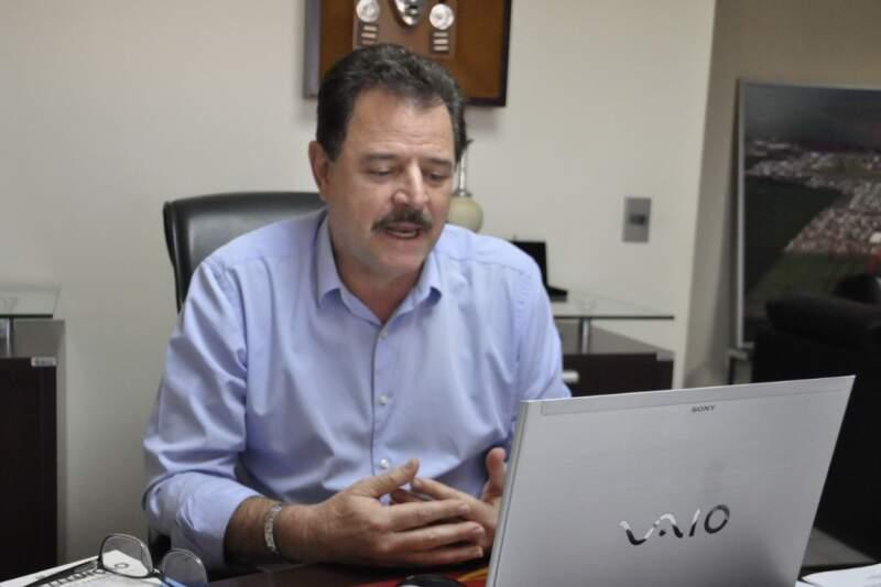 Prefeito de Chapadão do Sul, João Carlos Krug, espera conter avanço da pandemia com lockdown durante os próximos quatro dias (Foto Divulgação)