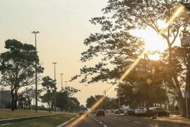 Umidade do ar chega a 7%, com fim de semana de mais tempo seco e calor